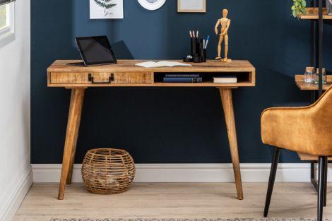 Biurko drewniane Retro 120x50 cm