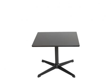 Stół kwadratowy 60x60 cm na jednej nodze, niski