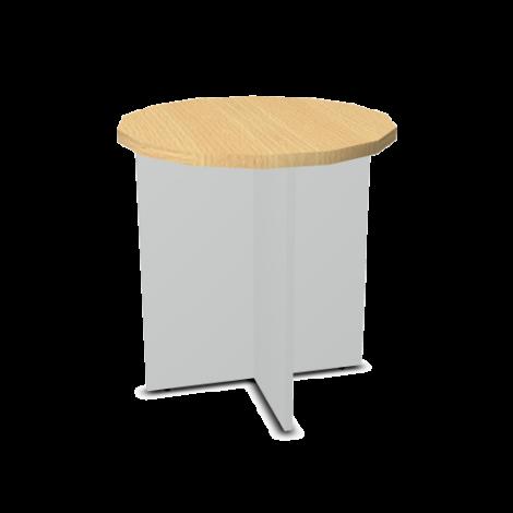 Svenbox Stolik z okrągłym blatem 63 cm PH62