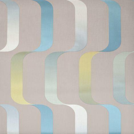 Tapeta geometryczna nowoczesne retro Mid Century York Y6221005