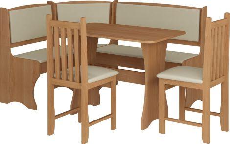 Zestaw Kuchenny Narożny z krzesłami MebloCross