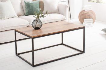 Stolik kawowy Elements 100x60 cm, drewniany