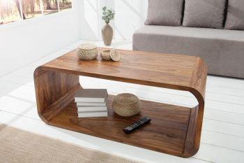 Stolik kawowy Cubus 100x50 cm, lite drewno Sheesham