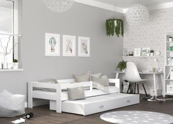 Łóżko 2-poziomowe Hugo P2
