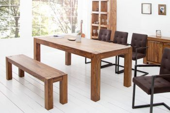 Stół drewniany do jadalni Makassar