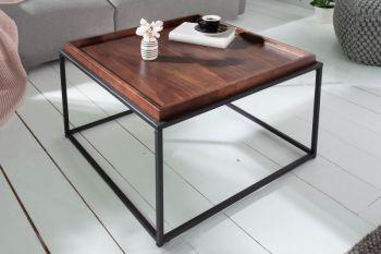 Stolik kawowy ze zdejmowaną tacą, Elements 60x60 cm