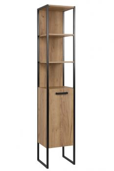 Szafka wysoka 185 cm, słupek łazienkowy loft Brooklin